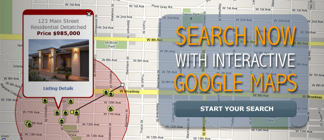 Search Now With Interactive Google Maps